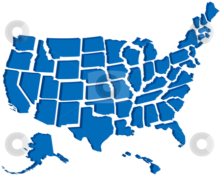 50 states clipart clipart freeuse library Clipart states - ClipartFest clipart freeuse library