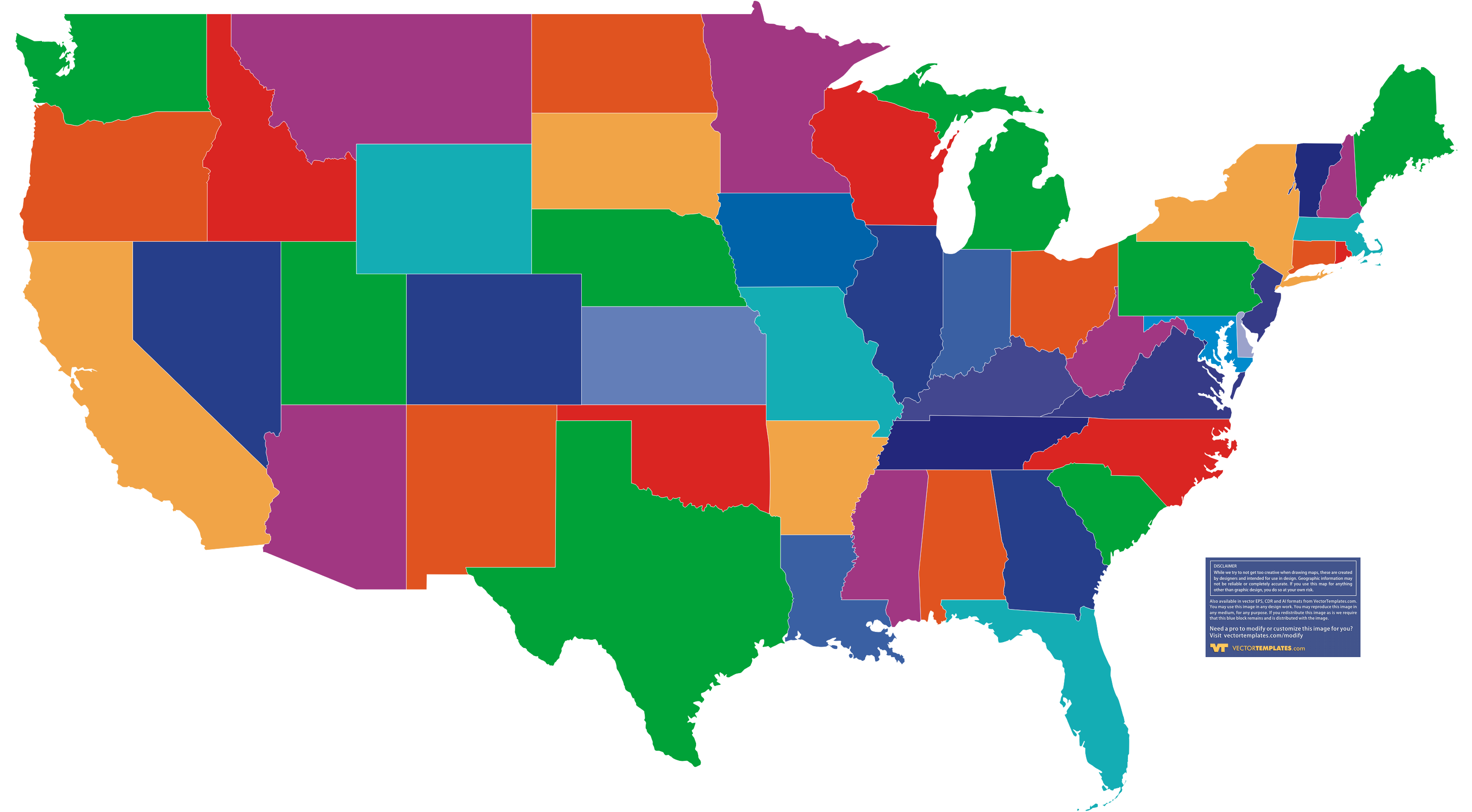 Free clipart state maps