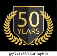 50 years clipart free graphic black and white library 50 Years Clip Art - Royalty Free - GoGraph graphic black and white library
