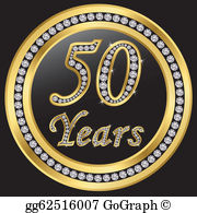 50 years clipart free clip 50 Birthday Clip Art - Royalty Free - GoGraph clip