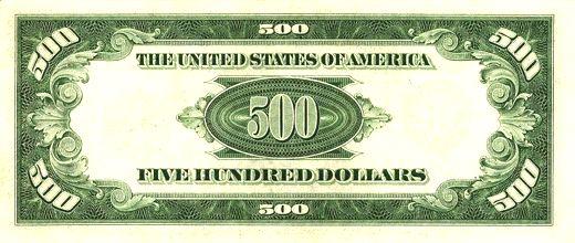 500 dollar clipart