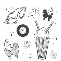50s black and white clipart free stock Free 50S Theme Cliparts, Download Free Clip Art, Free Clip Art on ... free stock