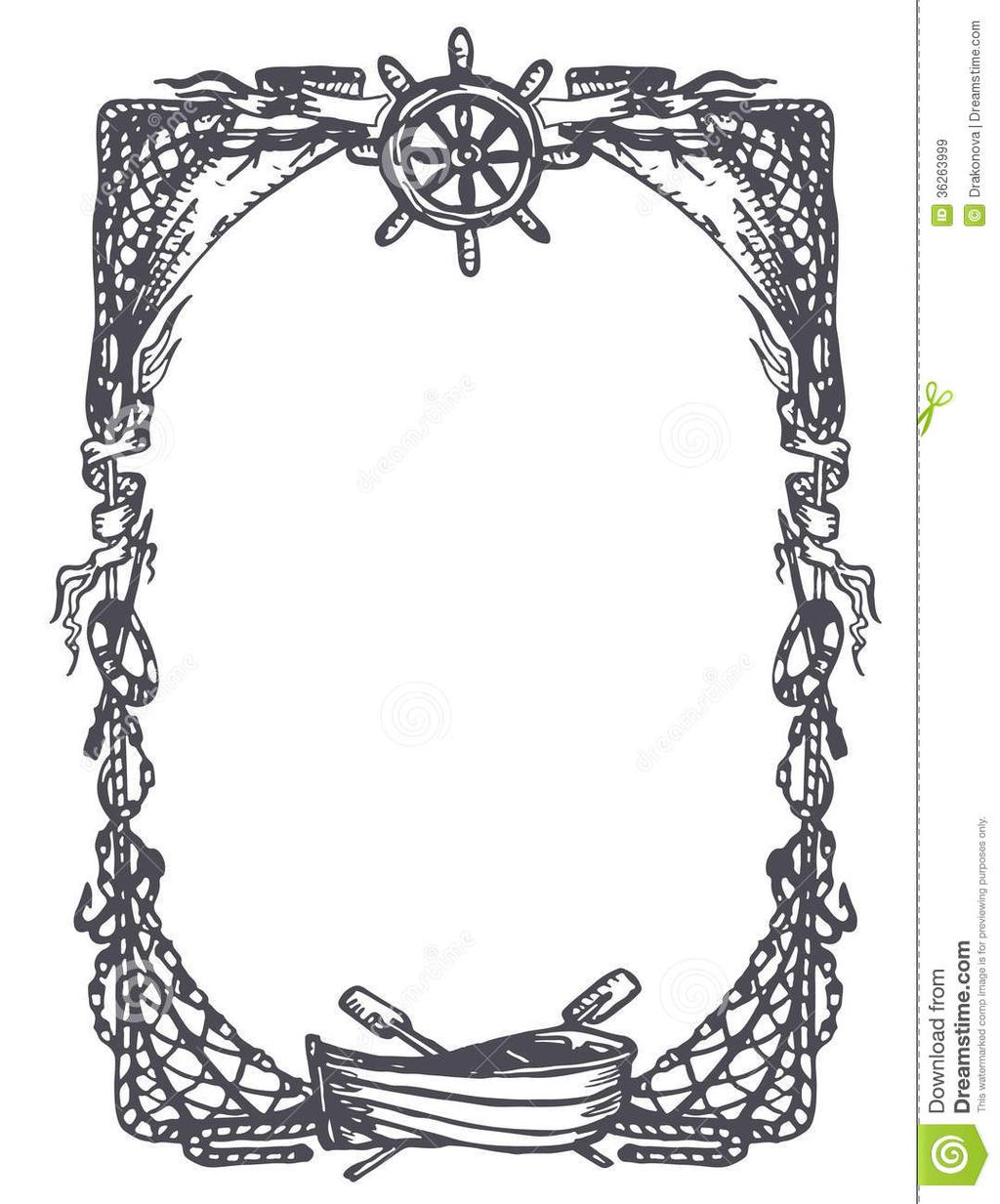 50-s borders clipart png download Nautical Borders Clipart Clipart - Clipart1001 - Free Cliparts png download