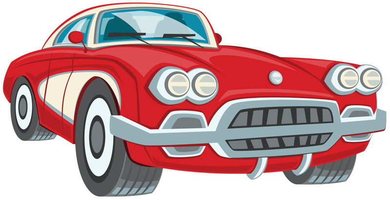 Old car vector clipart front view image royalty free download Car Show Clipart Image Group (51+) image royalty free download