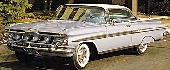 50s chevy impala clipart free 1950s Chevy Impala free