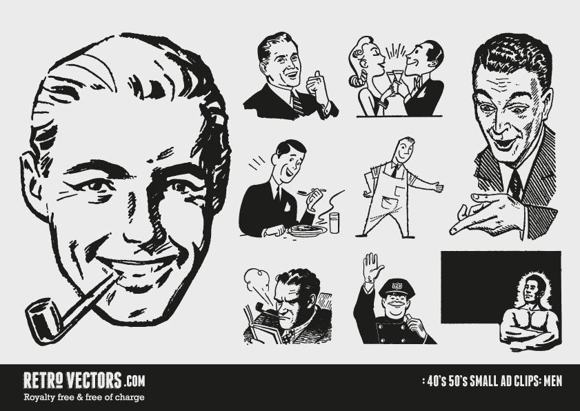 50s clipart image free library 50's Small ad Clipart | Free of Charge | Commercial Use | Retro ... image free library