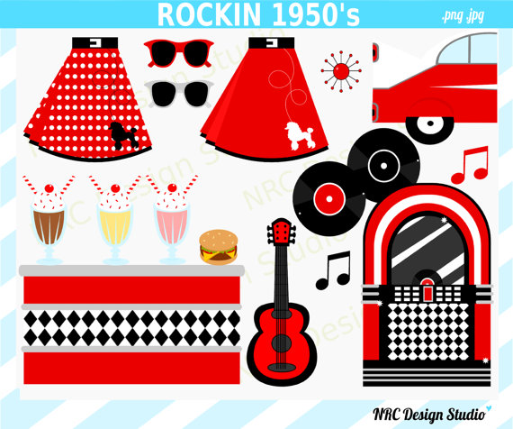 50s clipart jpg library stock 17 Best images about 50's clipart on Pinterest | Milkshake bar ... jpg library stock