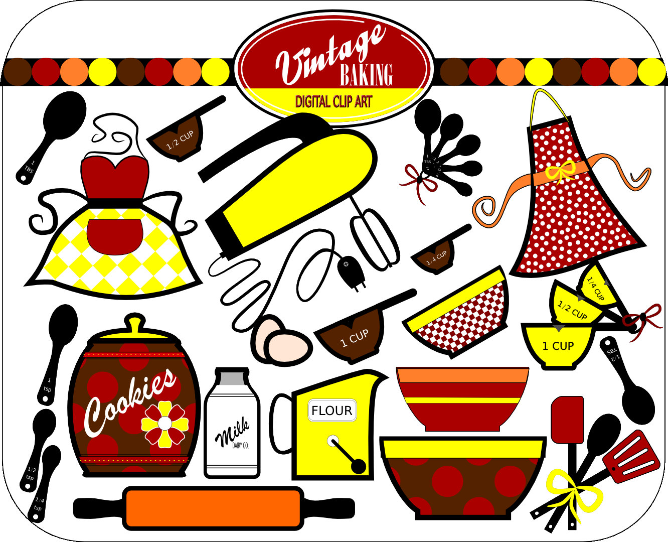 50s clipart free download banner freeuse Free Retro 50s Cliparts, Download Free Clip Art, Free Clip Art on ... banner freeuse