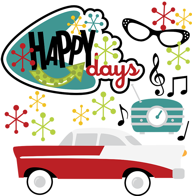 50s clipart png free stock Great site for SVG files - Happy Days SVG 50's svg 50's clipart 50's ... png free stock