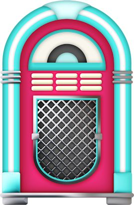 50's jukebox clipart - ClipartFest clip freeuse library