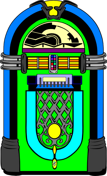 50s Jukebox Clipart - Clipart Kid image free