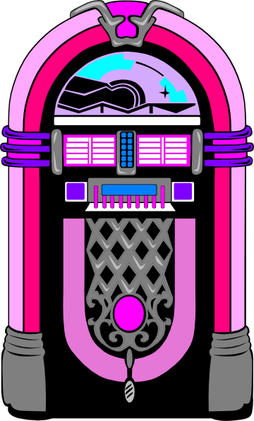 50s Jukebox Clipart - Clipart Kid svg royalty free stock