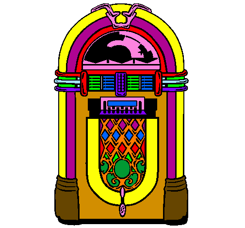 1950s Jukebox Clipart - Clipart Kid picture free stock