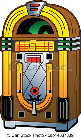 Vintage jukebox clipart - ClipartFest jpg library library