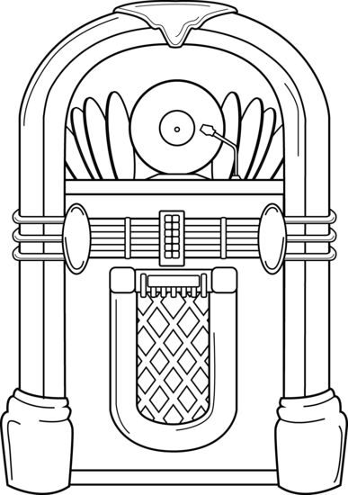 50s jukebox clipart svg free library clipart - ClipartFest svg free library