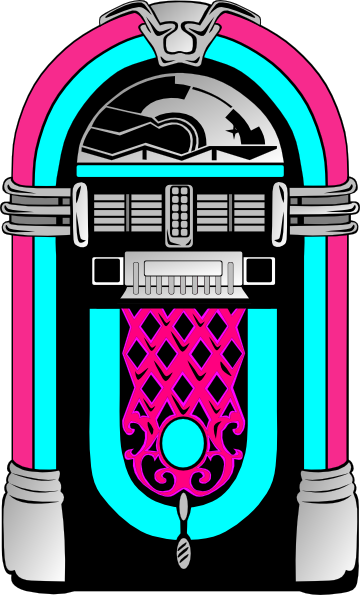 50s Jukebox Clipart - Clipart Kid graphic
