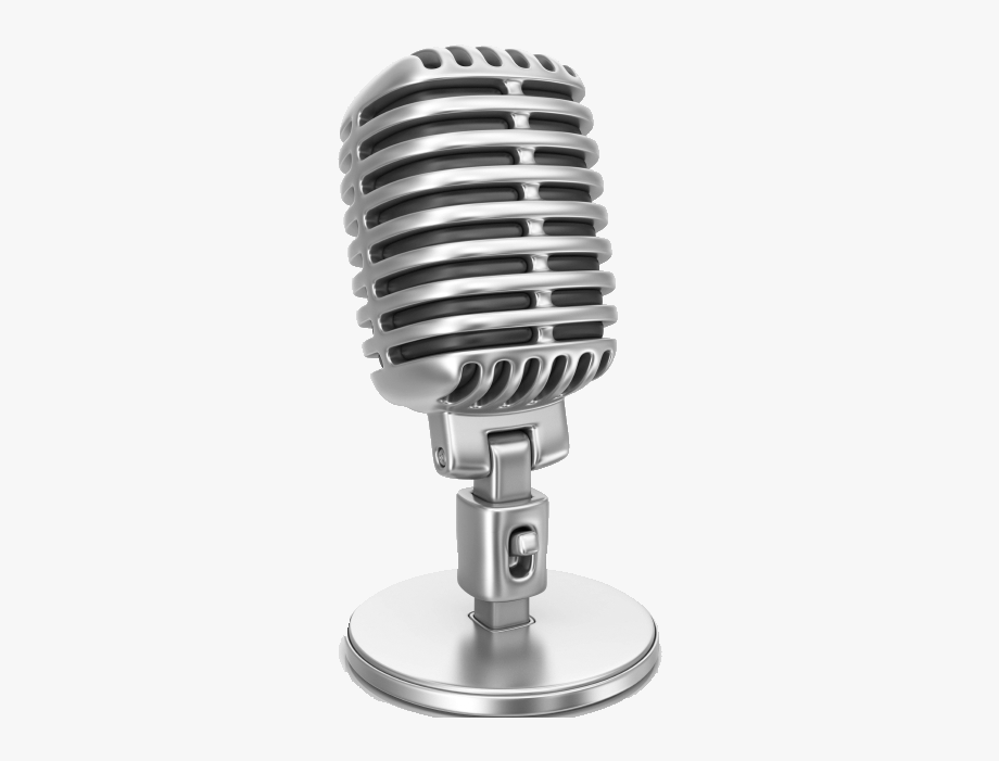 50s microphone clipart vector freeuse library Sing Clipart Microphone Stand - Radio Show #874418 - Free Cliparts ... vector freeuse library