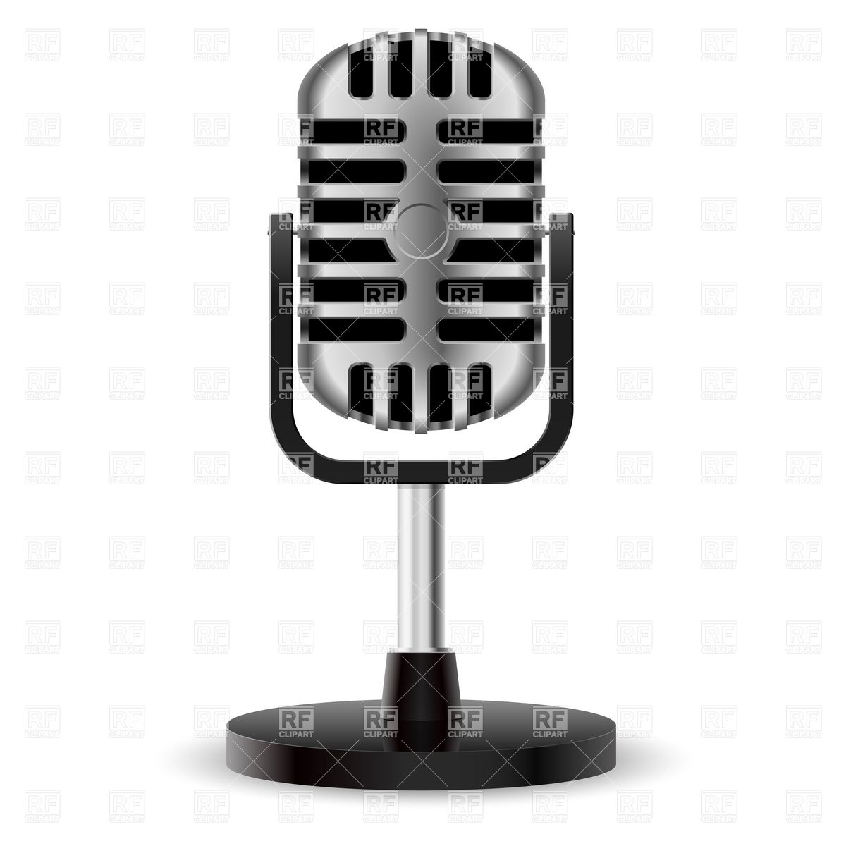 50s microphone clipart vector stock Microphone clipart studio microphone - 69 transparent clip arts ... vector stock