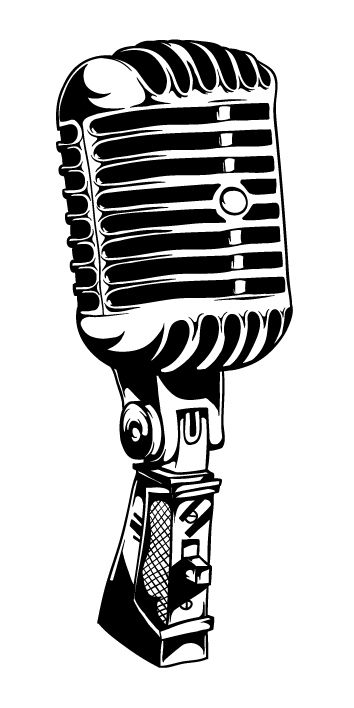 50s microphone clipart png freeuse stock Old Fashioned Mic | Free download best Old Fashioned Mic on ... png freeuse stock