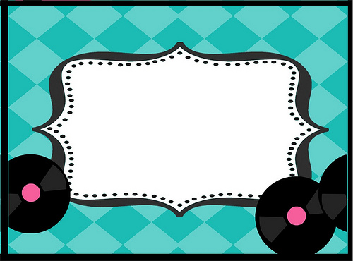 50s party clipart graphic library 24 Images of 50s Sign Template | unemeuf.com graphic library