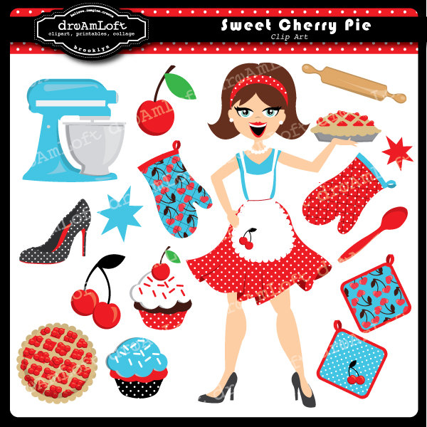 50s style fruit clipart image royalty free 50s style clip art - Clip Art Library image royalty free