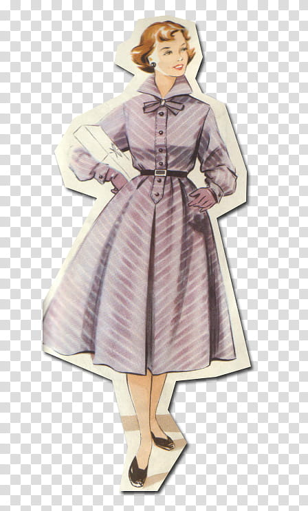 50s vintage designs clipart clip art freeuse download Retro style from s, woman in purple dress transparent background PNG ... clip art freeuse download