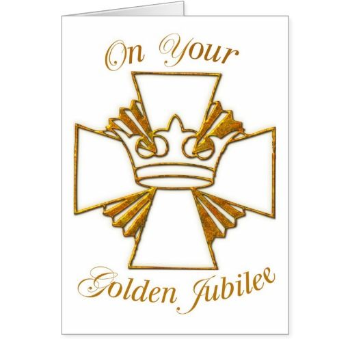 50th anniversary catholic priest clipart clip art download 3773 Golden Jubilee of Religious Life Card | Zazzle.com | Religious ... clip art download