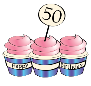 50th birthday cake clipart clip art stock Clip Art 50th Birthday Cakes - ClipArt Best clip art stock