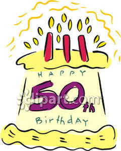 50th birthday cake clipart clipart library stock 50 Birthday Cake Clipart - Clipart Kid clipart library stock