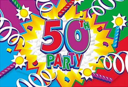 50th birthday party clipart png freeuse stock Free 50th birthday party clip art png freeuse stock