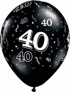 50th black balloons clipart image freeuse stock Happy 40th Birthday Clip Art - Bing Imágenes | It\'s Party Time ... image freeuse stock