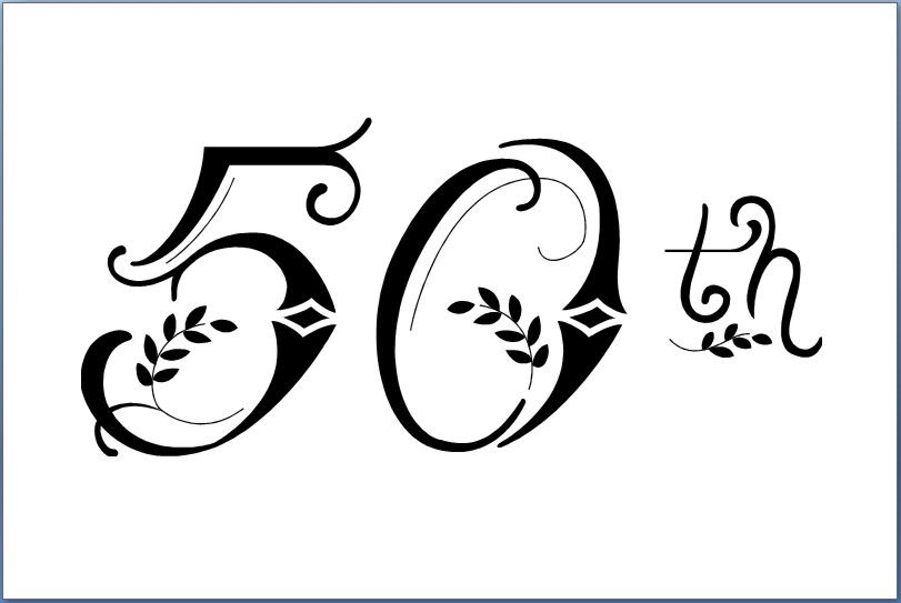 50th clipart graphic download Elegant 50th Birthday Clipart - Clipart Kid | Happy Birthday ... graphic download