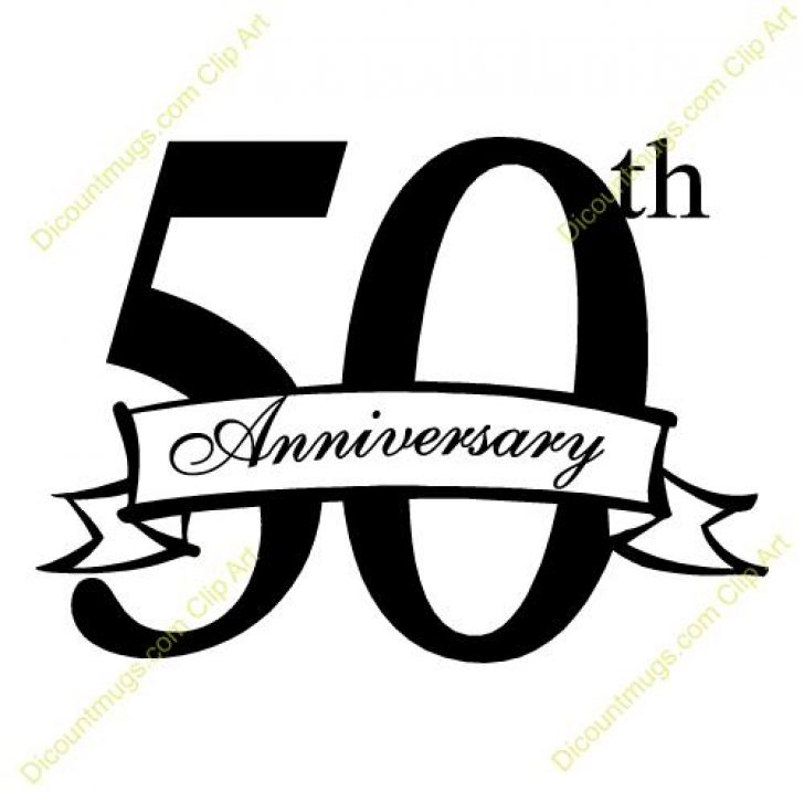 50th wedding anniversary black and white clipart svg black and white library clip art for 50th wedding anniversary | www.thelockinmovie.com svg black and white library