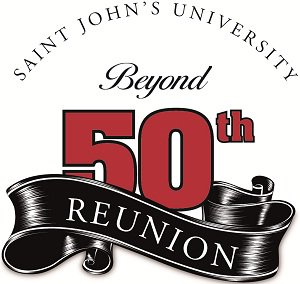 50th year class reunion clipart vector library stock Saint John\'s University - Homecoming and Reunion 2013 vector library stock