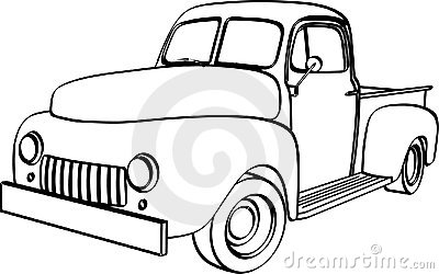 54 ford pickup clipart jpg transparent library Ford Pickup Truck Clipart | Clipart Panda - Free Clipart Images jpg transparent library