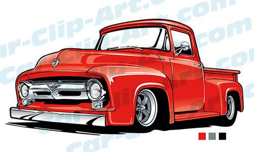 Free clipart downloads ford pickup trucks chargers clipart transparent 53 Ford Truck Vector Clip Art | Car Art | Classic ford trucks, Ford ... clipart transparent