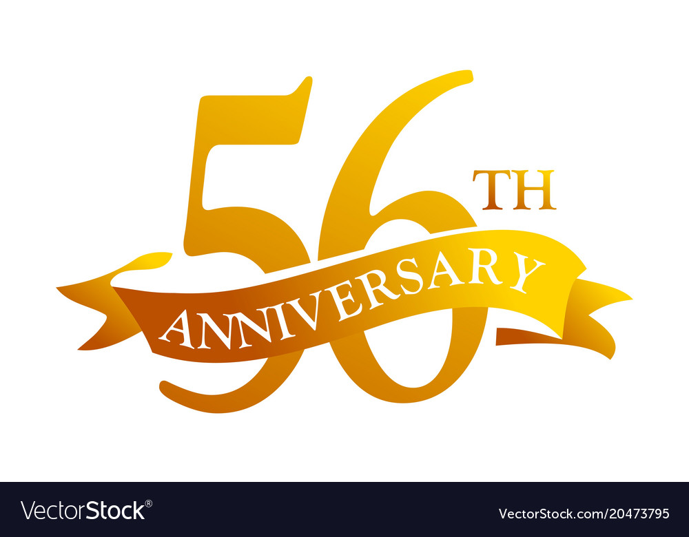 56th anniversary clipart png library 56 year ribbon anniversary png library