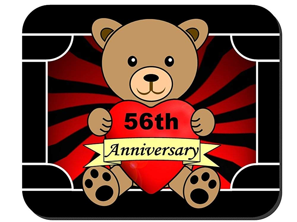 56th anniversary clipart clip art royalty free download Amazon.com : Happy 56th Anniversary Mouse Pad : Clothing clip art royalty free download