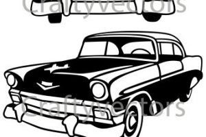 57 chevy from clipart png library library 57 chevy clipart » Clipart Station png library library
