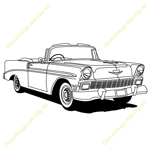 57 chevy from clipart jpg download Chevy Classics Car Clip Art | Chevy\'s 55-57 | Chevy, Art sketches ... jpg download
