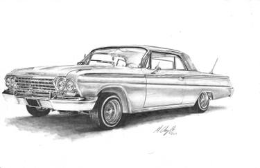 59 chevy impala clipart jpg black and white stock Impala Drawing at PaintingValley.com | Explore collection of Impala ... jpg black and white stock