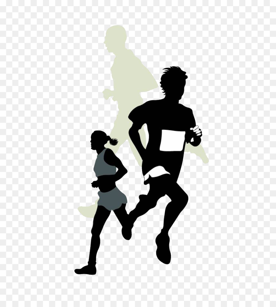 5k run clipart banner black and white download Running Cartoon png download - 708*1000 - Free Transparent 5K Run ... banner black and white download