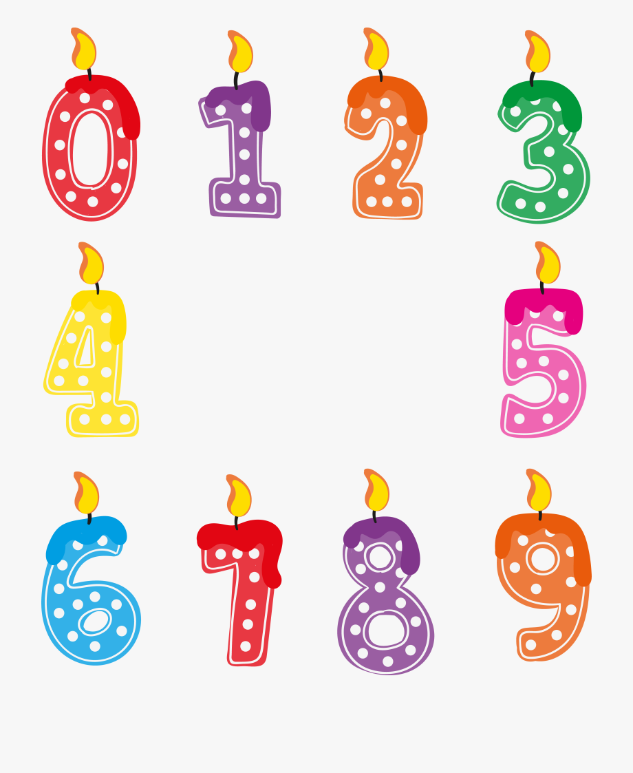 Absolutely all free clipart picture Absolutely Smart Birthday Candle Clipart Free Public - Number ... picture