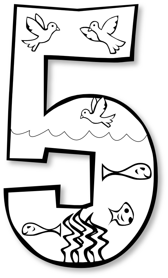 Number clipart black and white free library 5th Grade Math Coloring Pages | Free download best 5th Grade Math ... free library