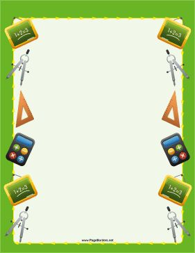 5th grade math border clipart picture black and white Free Supply Cliparts Math, Download Free Clip Art, Free Clip Art on ... picture black and white