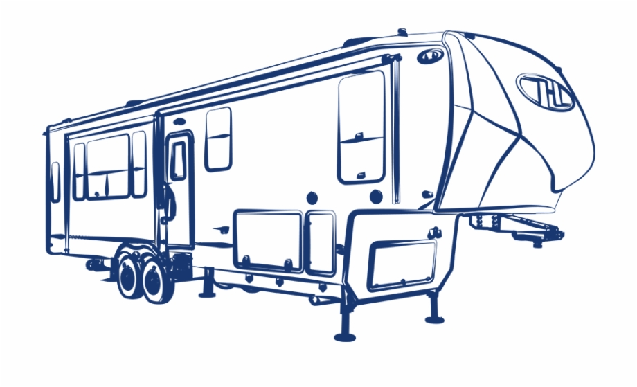 5th wheel clipart clip library stock The Future M - 5th Wheel Camper Drawing Free PNG Images & Clipart ... clip library stock
