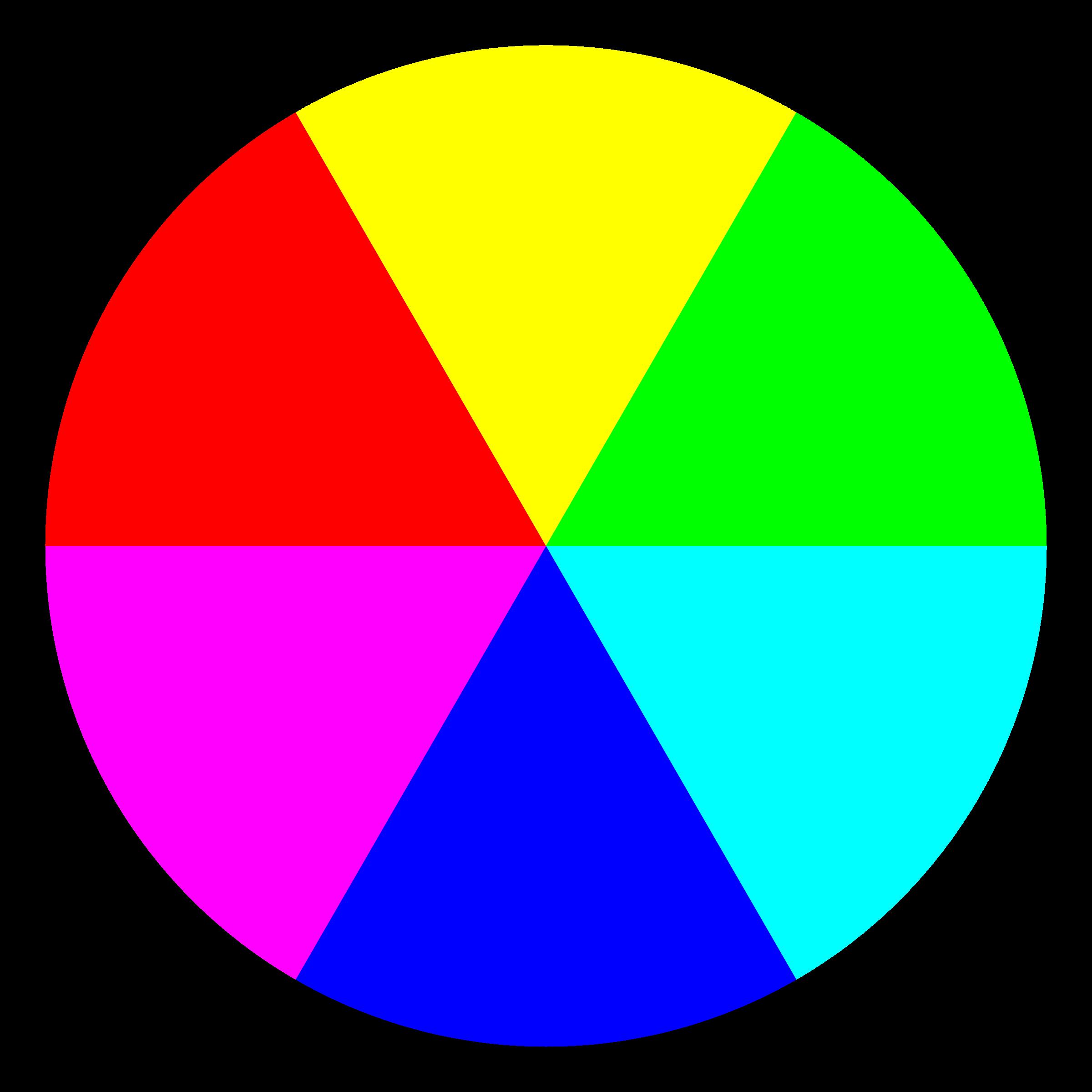 6 color clipart - ClipartFest graphic black and white download