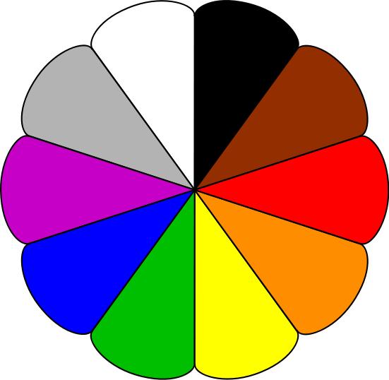 6 color clipart graphic download Clip Art About Colors Clipart - Clipart Kid graphic download