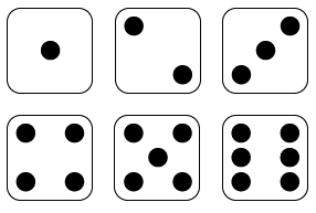 6 dice number clipart. Clipartfest clip art at
