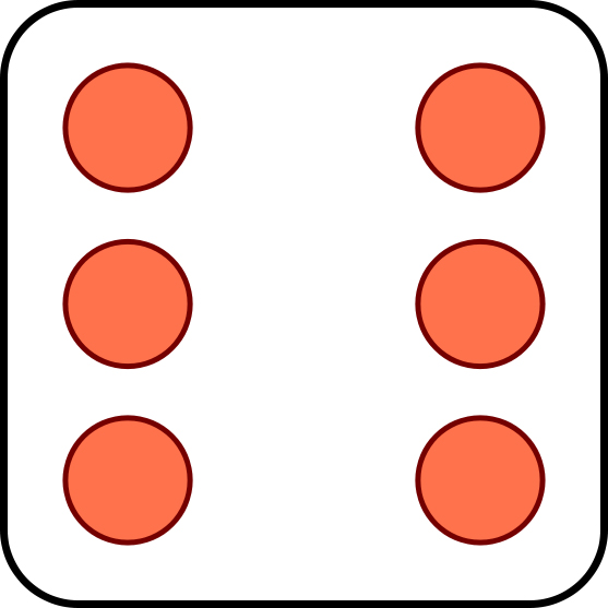 6 Dice Dots Clipart - Clipart Kid clipart royalty free stock